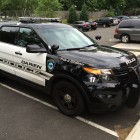 Darien Police SUV Pointed Right