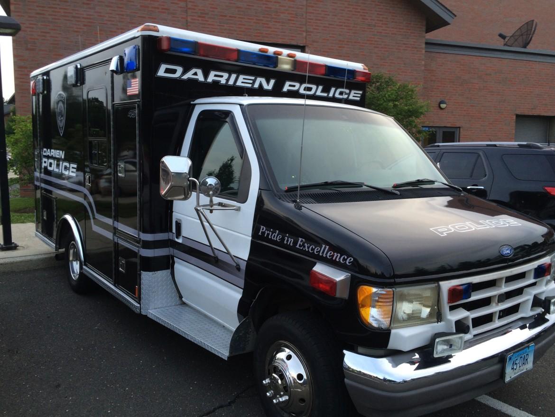 Darien Police Truck July 3 2015