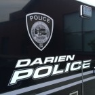 Darien Police Logo Police Car