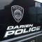 Darien Police Department Side Van