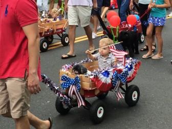 Dog Pulled Push-n-Pull Parade 2015