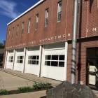 Front of Darien Fire Department