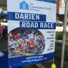 Darien Road Race Sidewalk 2015