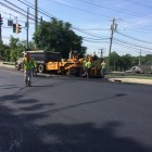 Paving Noroton Avenue Heights Road Darien