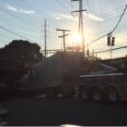 Truck Underpass Darien July 17