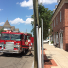 Power Outage Fire Truck July 20