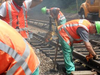 Track Work Metro-North