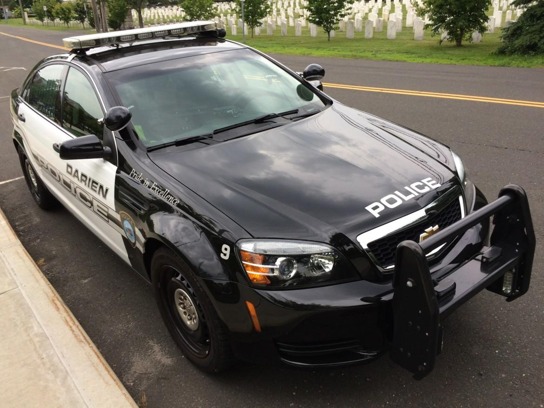 Darien Police Car