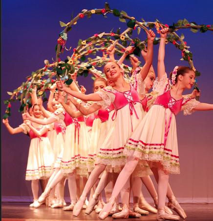 Darien Arts Center Dance Students