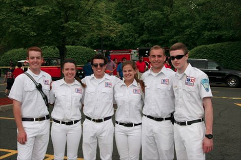 Darien EMS-Post 53 new officers