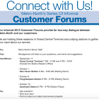 Metro-North Customer Forum