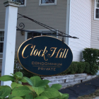 Clock Hill Condominiums Sign