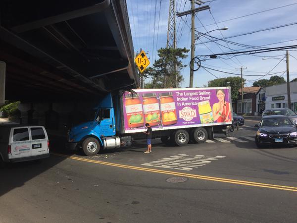 Truck vs Underpass