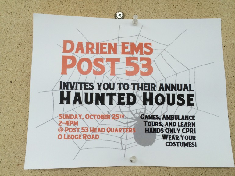 Poster for Post 53 Haunted House 2015