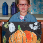 Olivia Sapper Halloween art 10-8-15