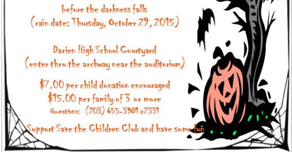 DHS Save the Children Halloween 2 2015