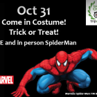 Spiderman Maritime Aquarium Halloween 2015