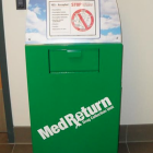 Prescription Drug Drop-off bin