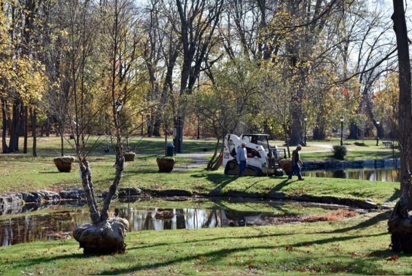 Tilley Pond Park (photo from Tree Conservancy of Darien)