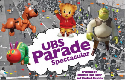 Stamford's Balloon Parade Steps off at Noon on Sunday