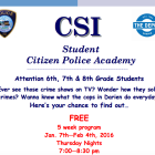 CSI Student Citizen Police Academy 2015 top