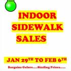 Indoor Sidewalk Sales 2016