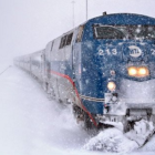 Train Winter
