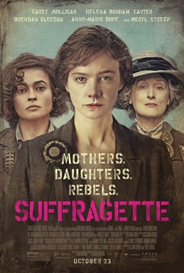 Suffragette movie poster 2-15-16