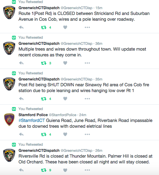 Greenwich police tweets 2-25-16