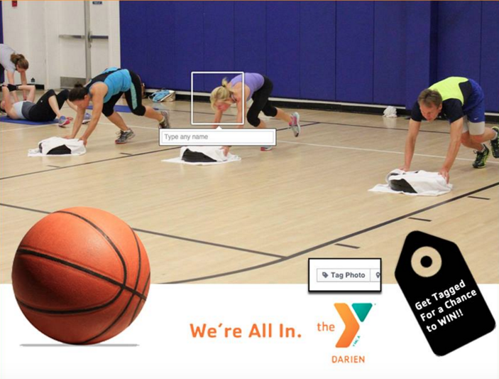 Darien YMCA get tagged 3-6-16