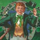 St Patrick's Day postcard 1913 3-14-16