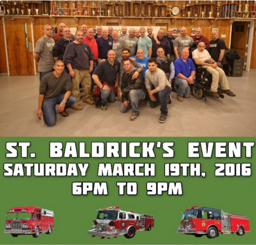 Darien Fire Department St. Baldrick's Twitter 3-19-16