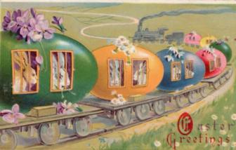 Vintage Easter Postcard 3-23-16