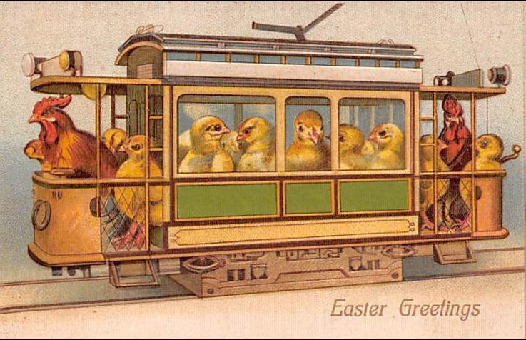 Easter Postcard vintage 3-23-16