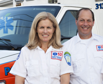 Nancy Herling Ron Hammer Darien EMS-Post 53 5-13-16