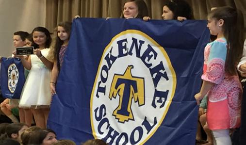 Tokeneke School Flag 6-14-16