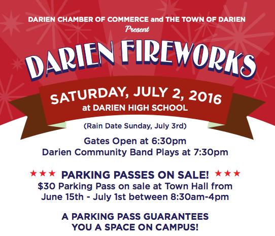 Top Darien Fireworks poster 2016 6-21-16