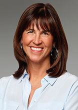 Ashley O'Neil, realtor at Halstead in Darien (photo from the Halstead website)