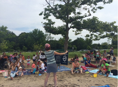 Stories by the Sea Darien Library Weed Beach 6-25-16