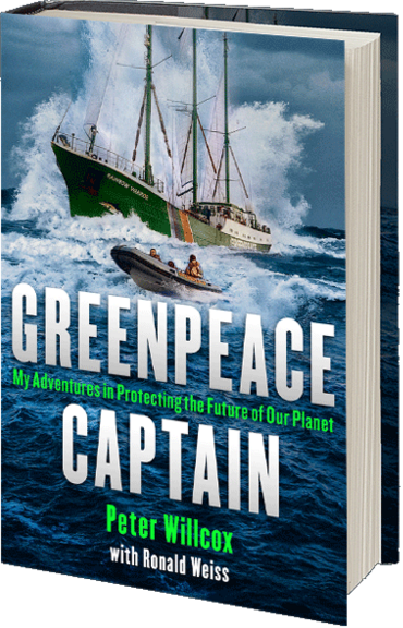 Greenpeace Ship Captain & Co-Author of his Autobiography Speak in
