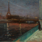 Nocturne, Paris by Alfred Maurer Bruce Museum 7-9-16