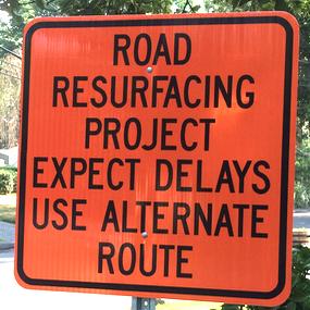 Paving Repaving DPW Roads 7-29-16