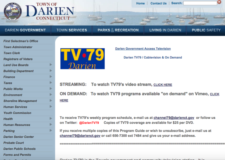 Web Page Darien TV79 8-2-16