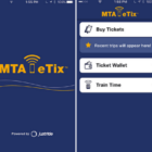 MTA eTix customer app