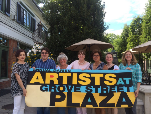 Artists at Grove Street Plaza 8-19-24