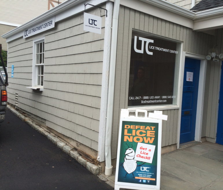 New storefront Lice Treatment Center 9-5-16