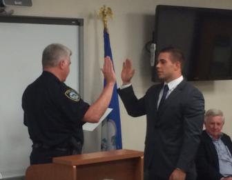Lou Gannon sworn in Police Department 9-19-16