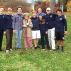 Leaf raking volunteers At Home In Darien 910-4-16