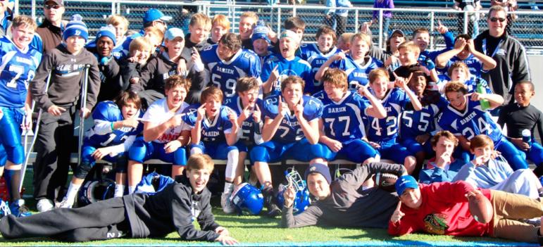 Darien Football Win 911-15-16