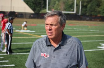 Coach Lou Marinelli New Canaan Football 911-22-16